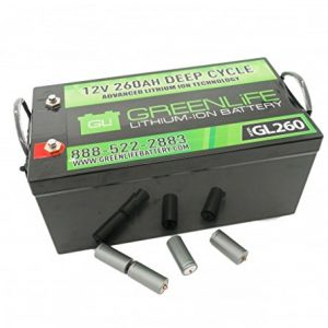 260Amp Lithium Battery