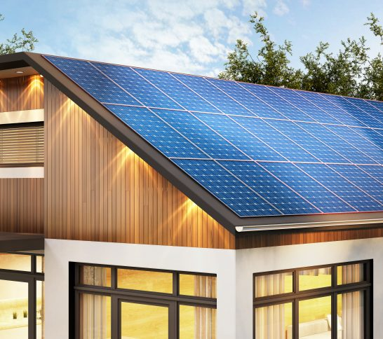 Solar power and lithium batteries